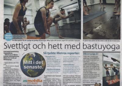 Artikel Metro - Hot Yoga Malmo