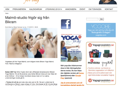 Artikel Yoga for dig 1 - Hot Yoga Malmo (dragen)