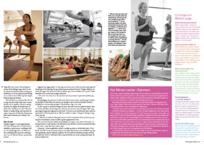 Artikel Fit living 2 - Hot Yoga Malmo