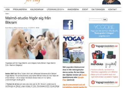 Artikel Yoga for dig 1 - Hot Yoga Malmo (dragen)