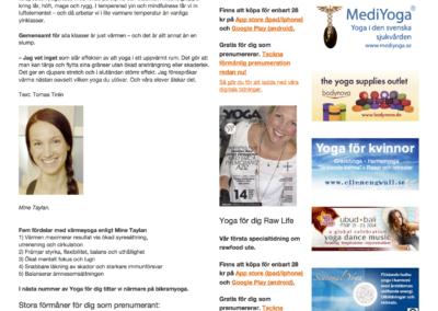 Artikel Yoga for dig 2 - Hot Yoga Malmo (dragen) 1